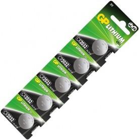 GP - GP CR2032 Lithium battery - Button cells - BL046-CB www.NedRo.us