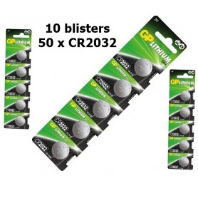GP - GP CR2032 210mAh 3V Lithium battery - Button cells - BS215 www.NedRo.us