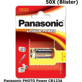Panasonic - Panasonic PHOTO Power CR123A blister Lithium batterij - Andere formaten - NK083-CB www.NedRo.nl
