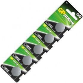 GP - GP CR2025 3v lithium knoopcel batterij - Knoopcellen - NK221-CB www.NedRo.nl