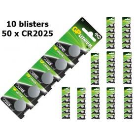 GP, GP CR2025 3v baterie plata cu litiu, Baterii plate, NK221-CB, EtronixCenter.com