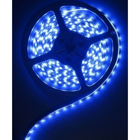 NedRo - Blauw 12V IP65 SMD5630 Led Strip 60LED per meter - LED Strips - AL155-CB www.NedRo.nl