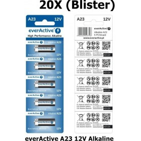 EverActive - Blister everActive A23 12V Alkaline - Other formats - BL171-20X www.NedRo.us