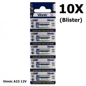 Vinnic - Blister Vinnic A23 12V Alkaline L1028F - Andere formaten - BL174-10X www.NedRo.nl