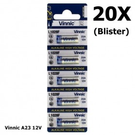 Vinnic - Vinnic A23 23A 12V L1028F Alkaline batterij - Andere formaten - BL174-20X www.NedRo.nl