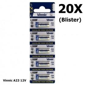 Vinnic - Vinnic A23 23A 12V L1028F Alkaline battery - Other formats - BL174-20X www.NedRo.us