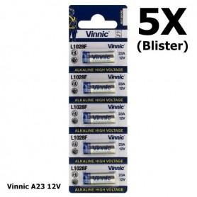 Vinnic - Vinnic A23 23A 12V L1028F Alkaline batterij - Andere formaten - BL174-5X www.NedRo.nl