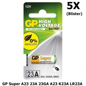 GP - GP Super A23 23A 23GA A23 K23A LR23A MN21 - Other formats - BL183-5X www.NedRo.us