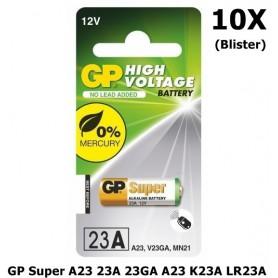 GP - GP Super A23 23A 23GA A23 K23A LR23A MN21 - Other formats - BL183-10x www.NedRo.us