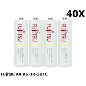 Fujitsu - Fujitsu AA R6 HR-3UTC 1900mAh Oplaadbare Batterijen - AA formaat - NK029-CB www.NedRo.nl