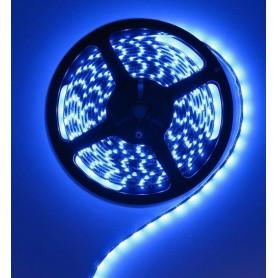 NedRo - Blauw 12V IP65 SMD5630 Led Strip 60LED per meter - LED Strips - AL155-3M www.NedRo.nl