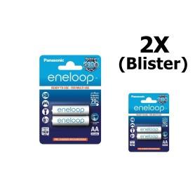 OTB - AA Panasonic eneloop Oplaadbare Batterij AA HR6 - AA formaat - ON1311-2x www.NedRo.nl