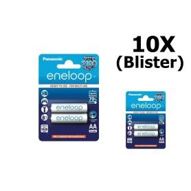 Eneloop - AA Panasonic eneloop Oplaadbare Batterij AA HR6 - AA formaat - ON1311-10x www.NedRo.nl