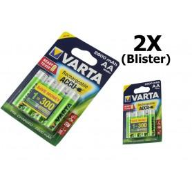 Varta - Varta Rechargeable Battery AA HR6 2600mAh - Size AA - ON1325-2x www.NedRo.us