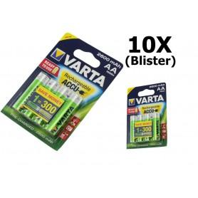 Varta - Varta Rechargeable Battery AA HR6 2600mAh - Size AA - ON1325-10x www.NedRo.us