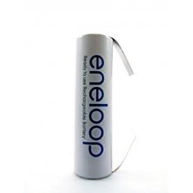 Eneloop - Panasonic Eneloop AA HR6 R6 battery with U tags - Size AA - NK010 www.NedRo.us