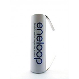 Eneloop - Panasonic Eneloop AA HR6 R6 battery with U tags - Size AA - NK010 www.NedRo.us