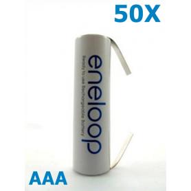 Panasonic - Panasonic Eneloop AAA R3 cu urechi de lipire - Format AAA - NK188-50x www.NedRo.ro
