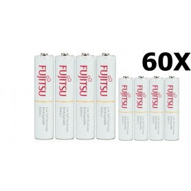 Fujitsu - Fujitsu AAA R3 HR-4UTC 800mAh Oplaadbare Batterijen - AAA formaat - NK028-CB www.NedRo.nl