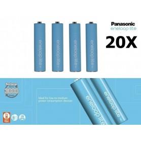 Panasonic, Panasonic Eneloop Lite AAA R3 1.2V 550mAh Baterii Reincarcabile, Format AAA, NK037-CB, EtronixCenter.com