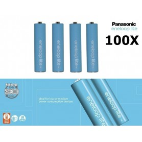 Panasonic - Baterii Reincarcabile Panasonic Eneloop Lite AAA R3 - Format AAA - NK037-C www.NedRo.ro