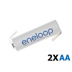 Eneloop - Panasonic Eneloop AA HR6 R6 cu urechi de lipire in Z - Format AA - NK003-CB www.NedRo.ro