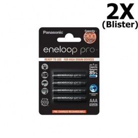 Eneloop - AAA Panasonic eneloop Pro Oplaadbare Batterij - AAA formaat - ON1317-2x www.NedRo.nl