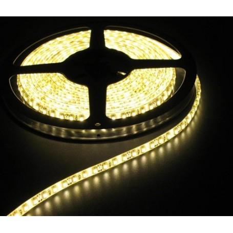 NedRo - Warm Wit 12V IP65 SMD5630 Led Strip 60LED per meter - LED Strips - AL157-CB www.NedRo.nl