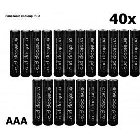 Eneloop - AAA R3 Panasonic Eneloop PRO Rechargeable Battery - Format AAA - NK055-40x www.NedRo.ro
