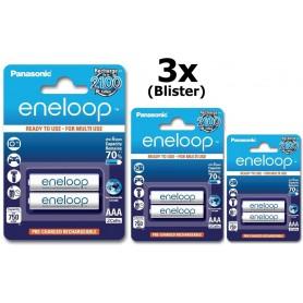 Eneloop - Panasonic Eneloop AAA R3 Baterii Reincarcabile - 2 Bucati - Format AAA - BL121 www.NedRo.ro