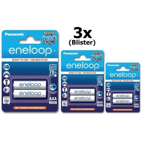 Eneloop - Panasonic Eneloop R3 AAA Rechargeable Battery - Size AAA - BS285 www.NedRo.us