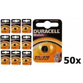 Duracell - Duracell 371-370/G6/SR920W watch battery - Button cells - NK383-CB www.NedRo.us