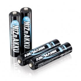 4x AAA 1.6V NiZn Ansmann Oplaadbaar Batterijen 900mwh