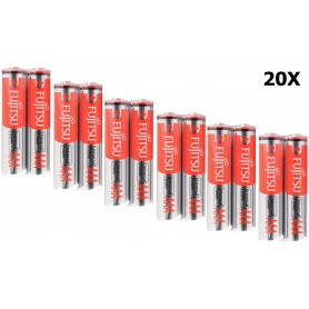 Fujitsu - FDK Fujitsu Universal Power LR03 / AAA / R03 / MN 2400 1.5V alkaline batterij - AAA formaat - NK041-20x www.NedRo.nl