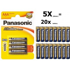Panasonic - Panasonic Alkaline Power LR03/AAA - AAA formaat - BL039-5x www.NedRo.nl