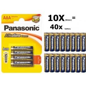 Panasonic - Panasonic Alkaline Power LR03/AAA - AAA formaat - BL039-10x www.NedRo.nl