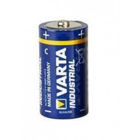 Varta - Varta Industrial LR14 C alkaline battery 7800mAh - Format C D 4.5V XL - BL120-2x www.NedRo.ro