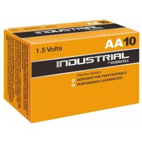 Duracell - Duracell Industrial LR6 AA alkaline battery - Size AA - BL064-50x www.NedRo.us