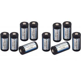 KeepPower - 700mAh KeepPower 16340 Oplaadbare batterij - Andere formaten - NK074-10x www.NedRo.nl