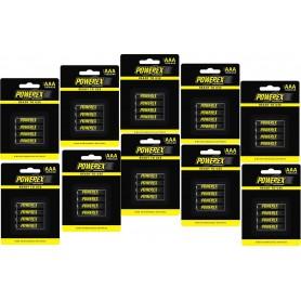 POWEREX - Powerex AAA 1000mAh Rechargeable - Size AAA - NK125-10x www.NedRo.us