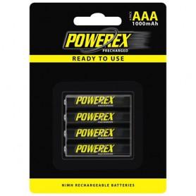 POWEREX - Powerex AAA 1000mAh Oplaadbare Batterij - AAA formaat - NK125 www.NedRo.nl