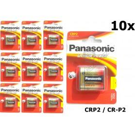 Panasonic - Panasonic LITHIUM Power CRP2 CR-P2 batterij blister NK087 - Andere formaten - NK087-10x www.NedRo.nl