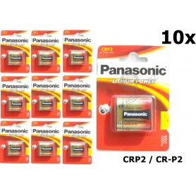 Panasonic - Panasonic LITHIUM Power CRP2 CR-P2 battery blister - Other formats - NK087-CB