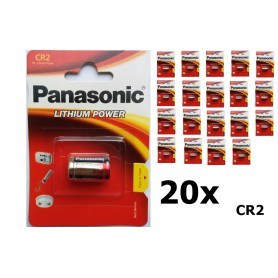 Panasonic - Panasonic CR2 blister Lithium batterij - Andere formaten - NK085-20x www.NedRo.nl