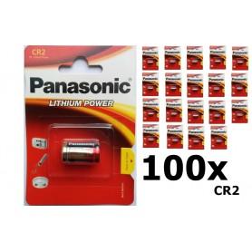 Panasonic - Panasonic CR2 blister Lithium batterij - Andere formaten - NK085-100x www.NedRo.nl