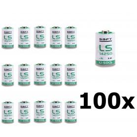 SAFT - SAFT LS14250 / 1/2AA Lithium batterij 3.6V - Andere formaten - NK095-100x www.NedRo.nl