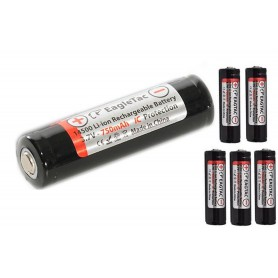 EagTac - EagTac 14500 750mAh 3,7V 1A (protected) - Other formats - NK155-CB www.NedRo.us