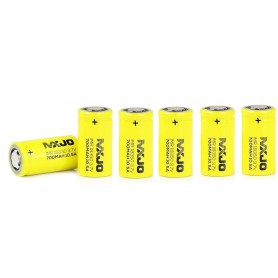 MXJO - MXJO IMR18350F 700mAh 10.5A Unprotected - Andere formaten - NK145-6x www.NedRo.nl