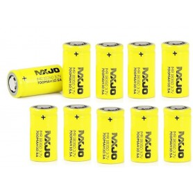 MXJO - MXJO IMR18350F 700mAh 10.5A Unprotected - Andere formaten - NK145-10x www.NedRo.nl