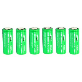 Efest - Efest IMR26650 Green 20A Unprotected - Size C D and XL - NK140-6x www.NedRo.us